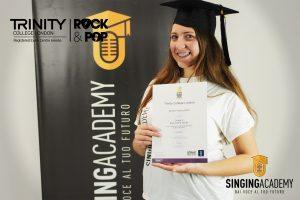 Attestato Trinity Rock & Pop Silvia Di Franco