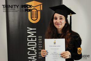 Certificazione musicale Arianna Scilipoti