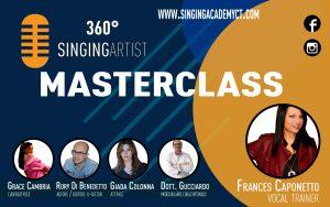 masterclass per cantanti e cantautori catania 360 singingartist